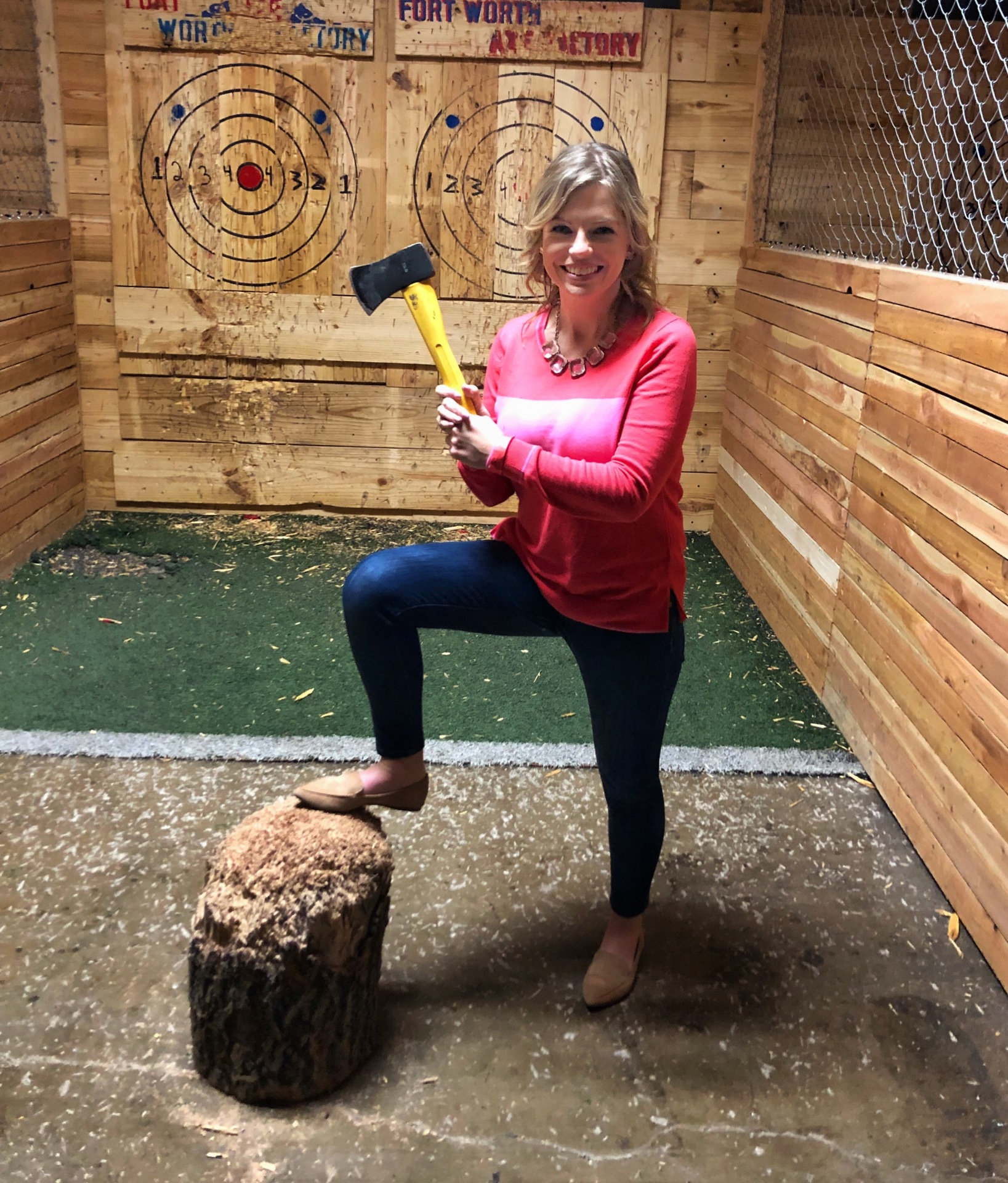 Ax Throwing Fun!